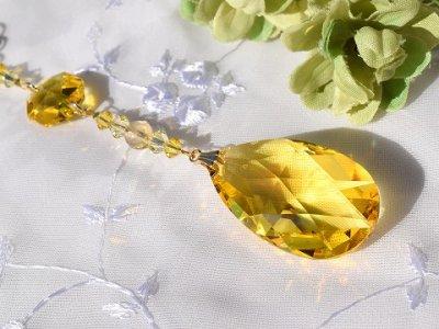 画像1: <再販>サンキャッチャー 羽ばたき*yellow*