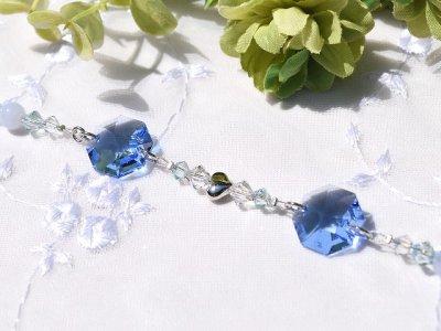 画像2: サンキャッチャー  lovely heart *blue*