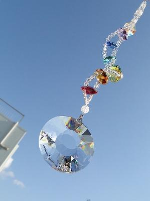 画像1: サンキャッチャー 螺旋(らせん)〜本来の自分を思い出すために〜 (1)